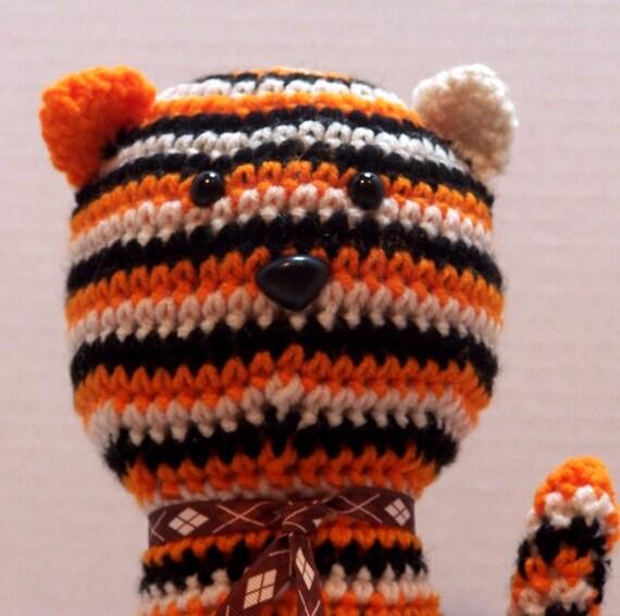 Amigurumi Black Cat Door Stopper : Crochet tiger striped cat doorstopart dollhandmade by ...