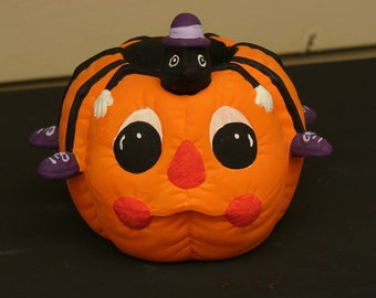 Pumpkin with Spider