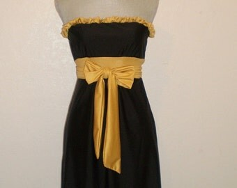 Gameday dress to Tailgate in YourTrue Colors UCF Black and Gold Med in Stock