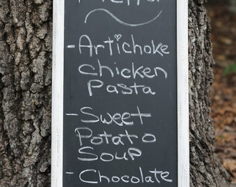 Wedding Chalkboard Sign Rustic Shabby Chic Menu Message Board, Large Chalkboard
