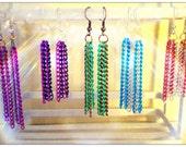 Colorful Chain Earrings