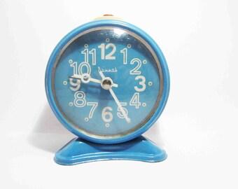 VINTAGE SOVIET CLOCK, use for home decor.