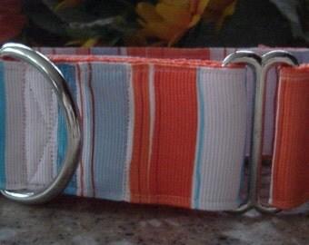 Beachglass - Orange and Light Blue!