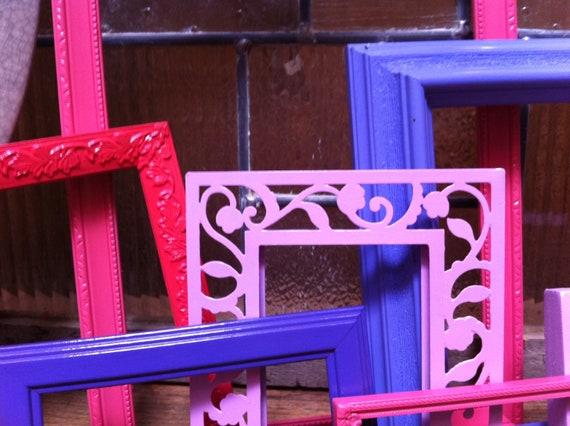 Dorm Decor, Vintage Frames, Little Girls Room, Hey Diddle Diddle, Berry Colors, Unique Funky Home Decor