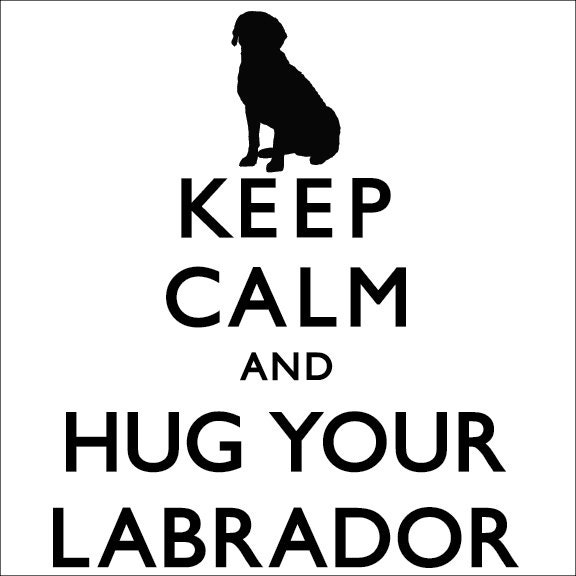 Keep Calm And Love Black Labs Items similar to Keep ...