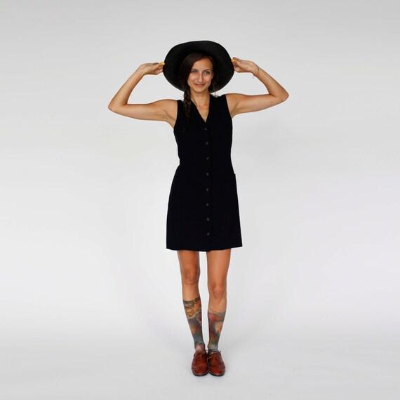 1980 DKNY menswear suit vest dress