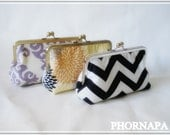 Customize your own clutch you choose the fabric Made to order