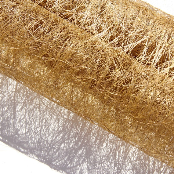 19 X 10 Yards Abaca Sinamay Fiber Mesh Roll Wrap With