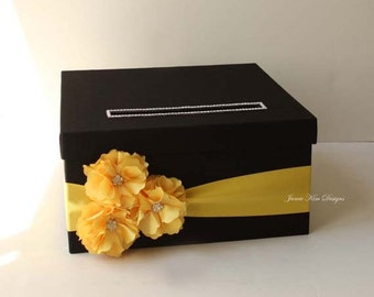Wedding Gift Card Box, Money Box, Card Box - Custom Card Box