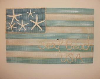 seaside flag