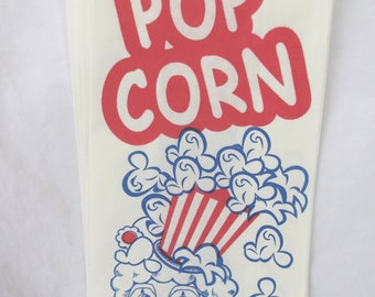 ViNTaGe STyLe CLoWN PoPCoRn BaGs---Birthday Parties--Carnival theme---sports theme--25ct