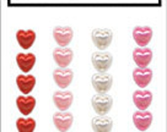 Sale Hero Arts Heart Pearls CH173