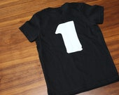 add a number to the back of your Tshirt - Kids