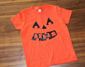 kids halloween shirt