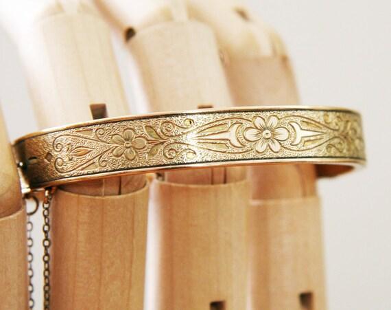 Antique Victorian Gold Bracelet -:- 1880s-1890s