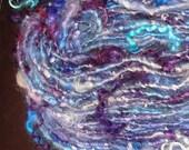 Purple and Plum Tail Spun Textured Single