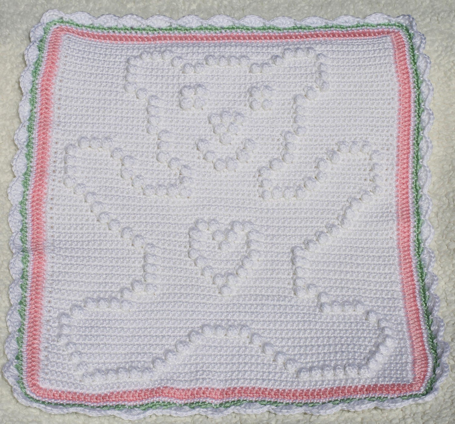 Crochet Pattern Crochet Baby Security Blanket Baby