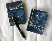Vintage Celestial Map Covered Mini Composition Notebook