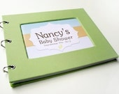 Baby Shower Guest Book - Light Green