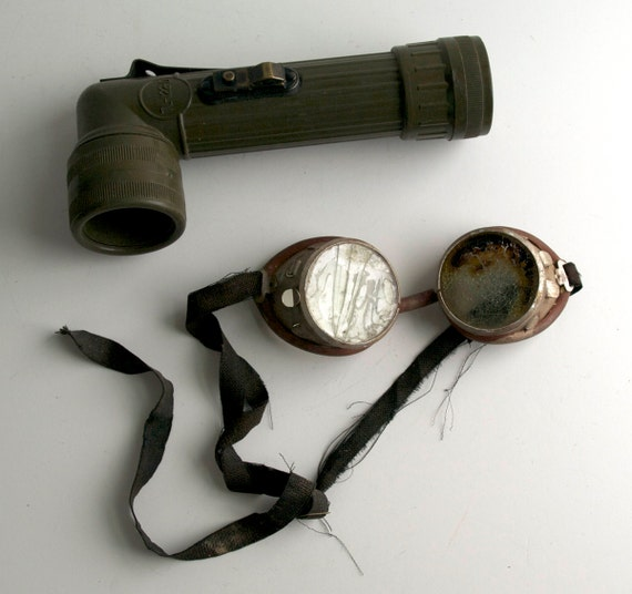Steam Punk Goggles n Flashlight