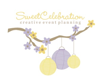 Premade Logo for Photographers Small Crafty Boutiques and Bloggers