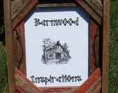 "Barnwood Picture Frame 8"" x 10"""