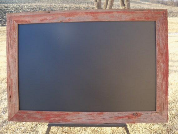 Barnwood Framed Chalkboard