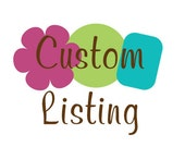Custom Listing for NChirole
