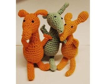 PDF Amigurumi crochet pattern Muckle