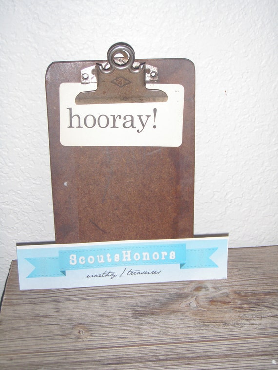 Small Vintage Clipboard