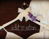 Bridesmaid Gift. Bridal Shower Gift. Bridesmaid Dress Hanger