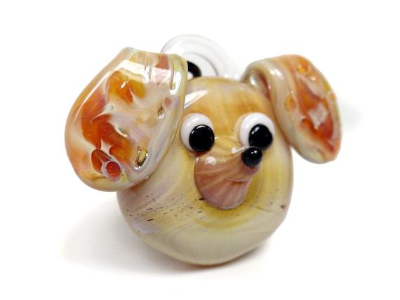 Golden Retriever - Glass Dog Pendant