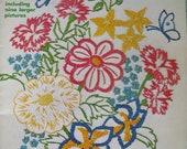 McMall's Iron - On Transfers VOL IV 45 Garden Motifs Embroidery Cross Stitch