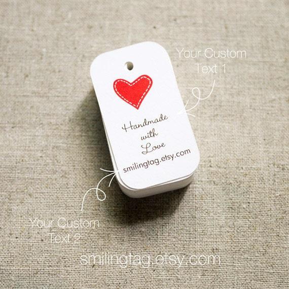 Wedding Gift Tags : Gift Tags - Custom Wedding Favor Tags - Thank you tags - Heart Wedding ...