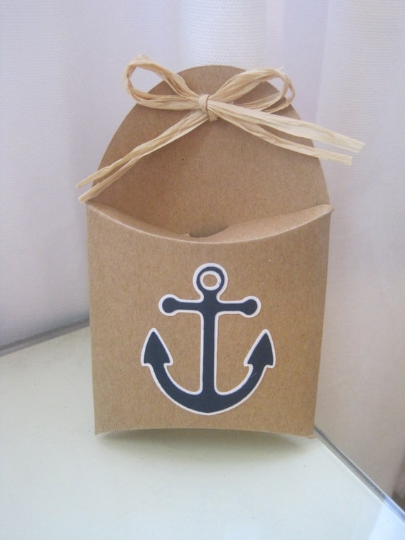 Items Similar To Funny Sweatshirt Cool Baseball Tshirt: Items Similar To 12 Anchor Nautical Theme Favor Boxes On Etsy
