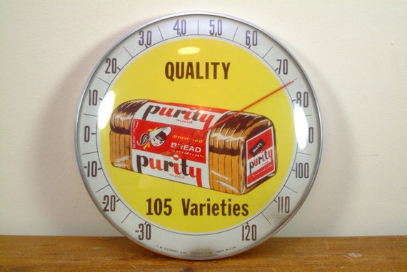 Rare Antique Purity Maid Thermometer from the late 40's or early 50's