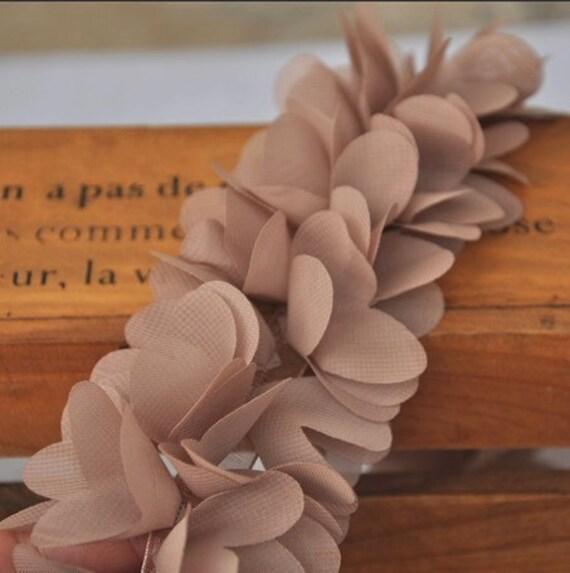 Earth Tune Lace Trim, Wedding Lace , Bridal Accessory,Floral Crown Supplies, Newborn Shot Lace