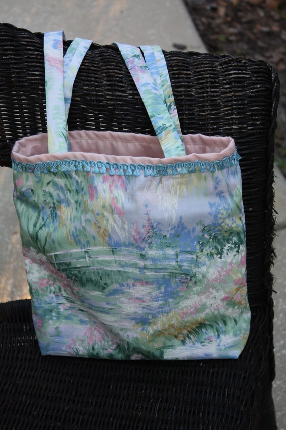 Watercolor Bridge Tote