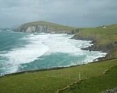 Beautiful Ocean- Ireland Metallic Photograph