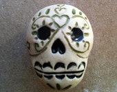 Día de los Muertos skull furniture knobs, Day of the Dead skull