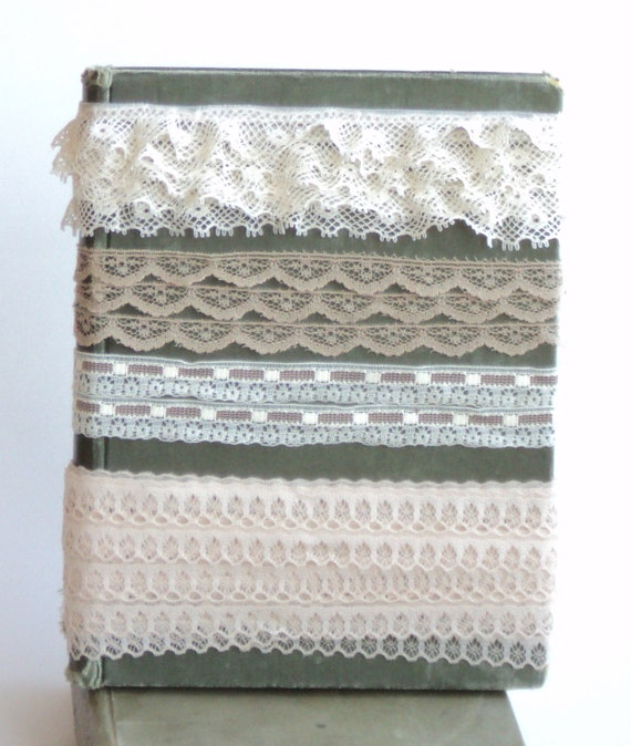 Vintage Lace Trim, 10 Yards of 8 styles assorted Beige, Cream, Sand, Off-White, Buff Coloured Lace