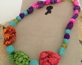 Funky Multi Colored Necklace