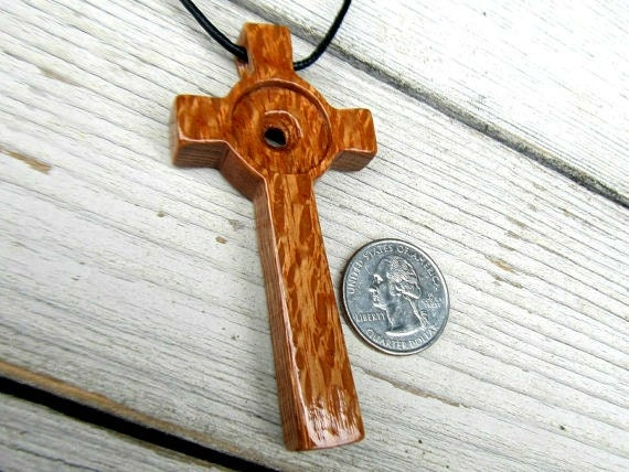 Large Wooden Cross - Hand Crafted Australian Lacewood