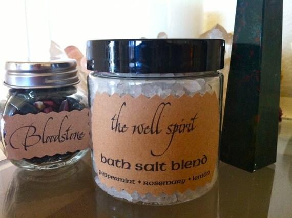 Well Spirit bath salt blend