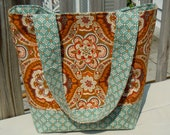 Clearance Tote, Diaper Bag, reversible, Spring Accessory