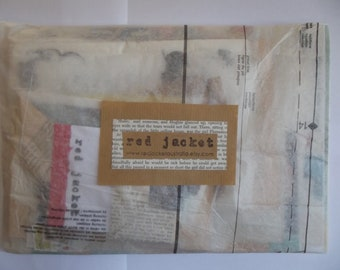 Paper Collage pack with assorted vintage paper goodies