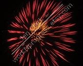 Fireworks (4) 4x6 photo print photography by Jen Clark