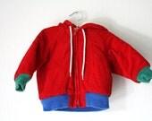 OshKosh Corduroy Color block Jacket, Baby Toddler Size 18 Months