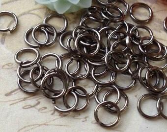 7 mm Gunmetal Jump Rings (.mmsa)