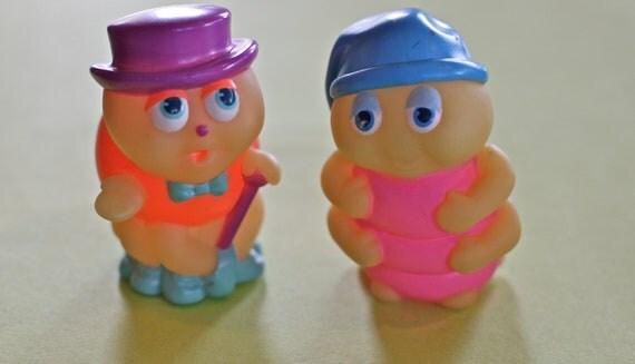 80's Glow Worm Figurines